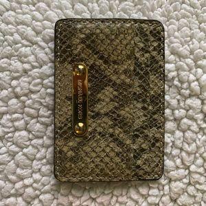 Authentic Michael Kors Faux Snakeskin Wallet